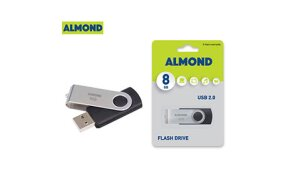USB FLASH ALMOND TWISTER 8GB